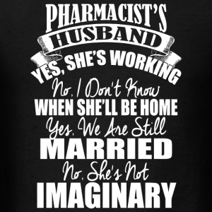 Pharmacist - pharmacist's husband - Men's T-Shirt