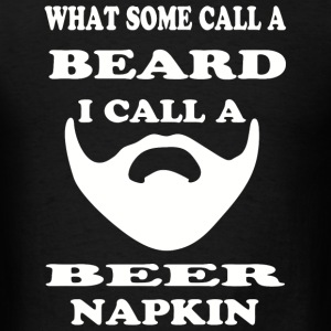 Beard - Funny Beard Lover Facial Hair Gift Idea - Men's T-Shirt