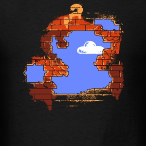 Mario - Brick Breaker - Men's T-Shirt