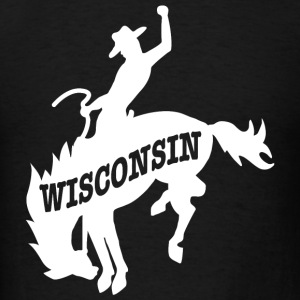 Wisconsin - Rodeo Cowboy Wisconsin tee - Men's T-Shirt