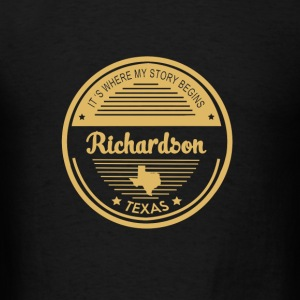 Richardson - It's where my story begins t-shirt - Men's T-Shirt