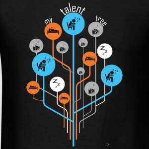 Sleep - Talent Tree - Men's T-Shirt