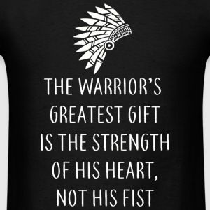 Native american - Every Native is a Warrior - Men's T-Shirt