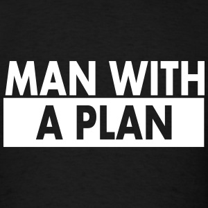 Man with a plan wht