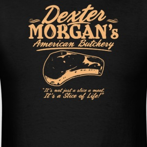 Dexter morgan's american butchery - Men's T-Shirt