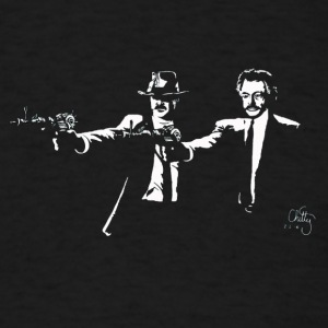 Jack and Nero: Pulp Fiction - Men's T-Shirt