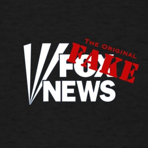 Fox Fake News, the original fake - Men's T-Shirt