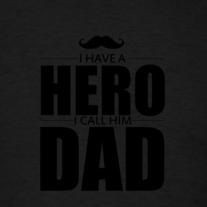 HERO - DAD - Men's T-Shirt