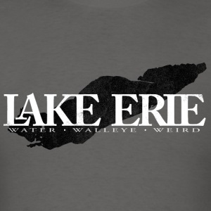 Lake Erie in White - Men's T-Shirt
