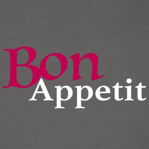 Bon Appetit Pink and White Stack - Men's T-Shirt