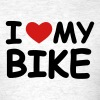 I Love My Bike - Men's T-Shirt