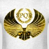Roman Golden Eagle With SPQR Sign - Men's T-Shirt