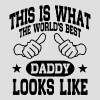 The World's Best Daddy - Men's T-Shirt