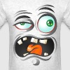 Ugly cartoon face - Men's T-Shirt
