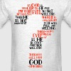 Epicurean Paradox Word Cloud by Tai - Men's T-Shirt