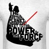 Darth Vader in quotes  - Men's T-Shirt