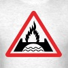 Burning Bridges - Men's T-Shirt