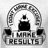 Results Gym Quotes Sports - Men's T-Shirt