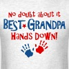 Hands Down Best Grandpa - Men's T-Shirt
