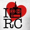 I Heart RC - Men's T-Shirt
