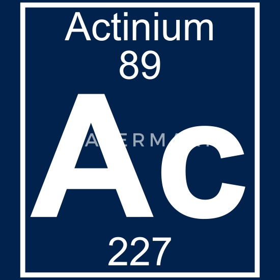 Element 89 - ac (actinium) - Full Men's T-Shirt | Spreadshirt