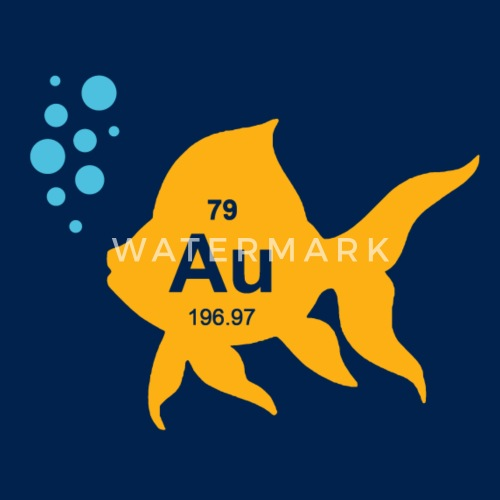 Periodic table elemental gold fish by the shirt yurt spreadshirt do you want to edit the design urtaz Choice Image