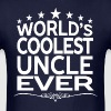 WORLD'S COOLEST UNCLE EVER - Men's T-Shirt