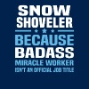 Snow Shoveler - Men's T-Shirt