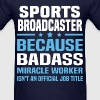 Sports Broadcaster - Men's T-Shirt