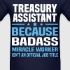 Treasury Assistant - Men's T-Shirt