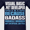 Visual Basic .NET Developer - Men's T-Shirt