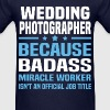 Wedding Photographer - Men's T-Shirt