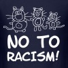 No To Racism USA Comic Statement Art Cats Cat - Men's T-Shirt