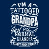 TATTOOED GRANDPA - FATHER DAY - Men's T-Shirt
