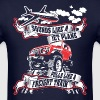 Sounds Like Jet Plane Pulls Like Freight Train - Men's T-Shirt