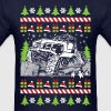 Ugly Christmas Jeeper - Men's T-Shirt