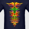 Color your life! colorful, party, music, rainbow,  - Men's T-Shirt