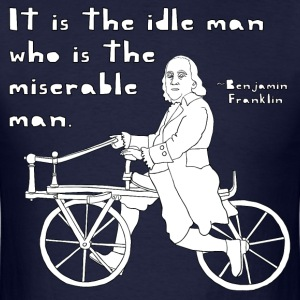ben franklin cycling quote