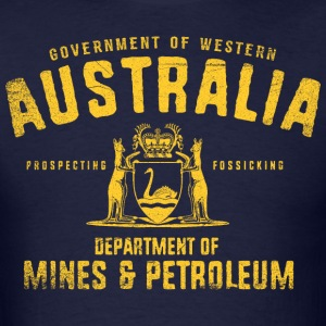 Western Australia Dept. of Mines and Petroleum - Men's T-Shirt
