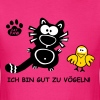 Ich bin gut zu Vögeln- German Sexy Cat Bird - Men's T-Shirt