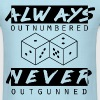 Never Outgunned - Men's T-Shirt