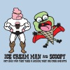 Ice Cream Man & Scoopy - Men's T-Shirt