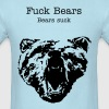 Angry Bear ( Vector Graphic ) - Men's T-Shirt