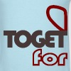 together forever (couple-male) - Men's T-Shirt