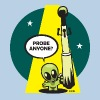 Woody Alien Probe - Men's T-Shirt