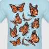 Geometric Monarch Butterfly  - Men's T-Shirt