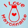 I Love Mayonnaise  - Men's T-Shirt
