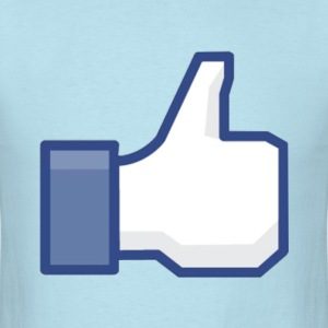 Facebook Like/Thumbs Up: Cool Party Fun Design T-Shirt T Shirt TShirt