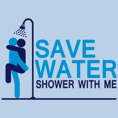 Save Water Shower With Me Mens T Shirt Spreadshirt