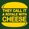 Royale with Cheese - Men's T-Shirt